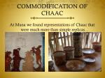 commodification of chaac3