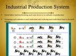 industrial production system