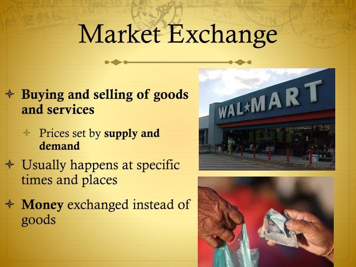 Market Exchange