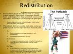 redistribution