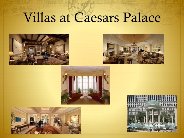 Villas at Caesars Palace