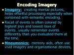 encoding imagery