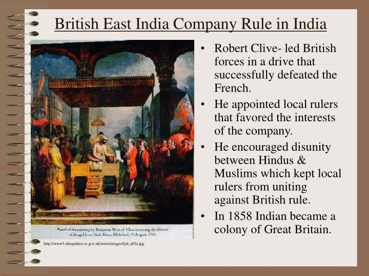 british rule in india The more i read about it, the more unjust it seemed so many americans have, however, during the last few years spoken admirably of england's colonial system that i have looked forward to the visit to india with increasing interest, because of the opportunity it would give me to study at close range.