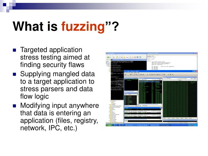 What is fuzzing