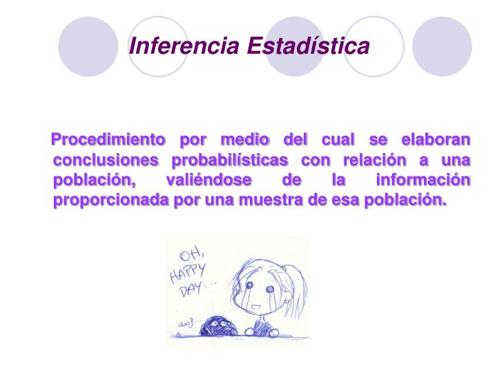 Inferencia estad stica