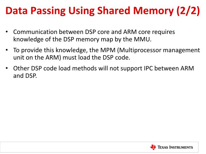 Data Passing Using Shared Memory (2/2)