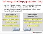 ipc transports srio 1 3 keystone i only