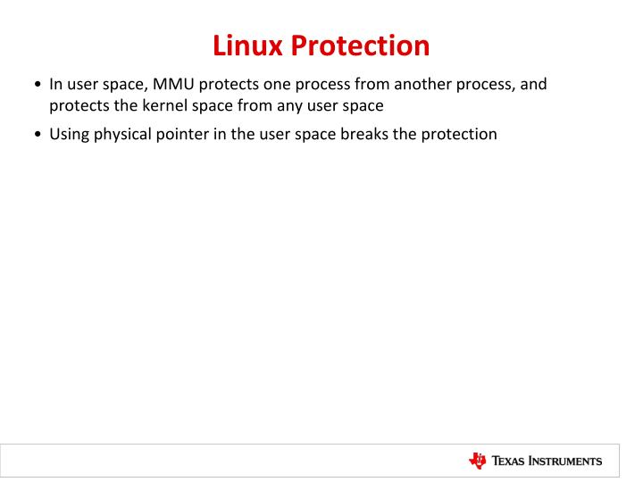 Linux Protection