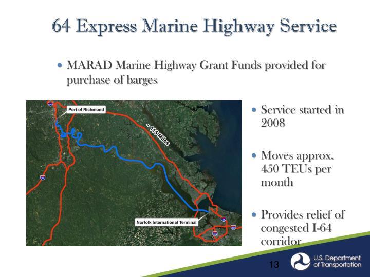 64 Express Marine Highway Service