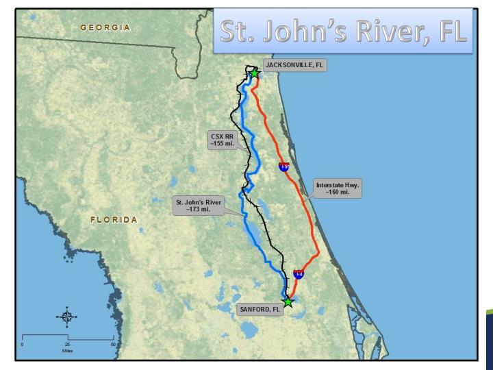 St. John's River, FL