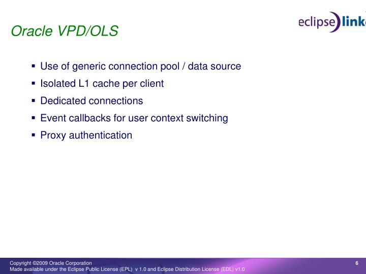 Oracle VPD/OLS