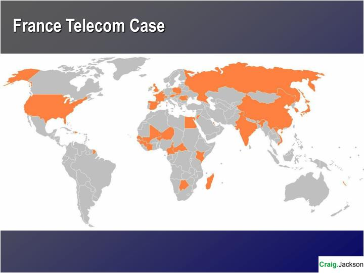 France Telecom Case