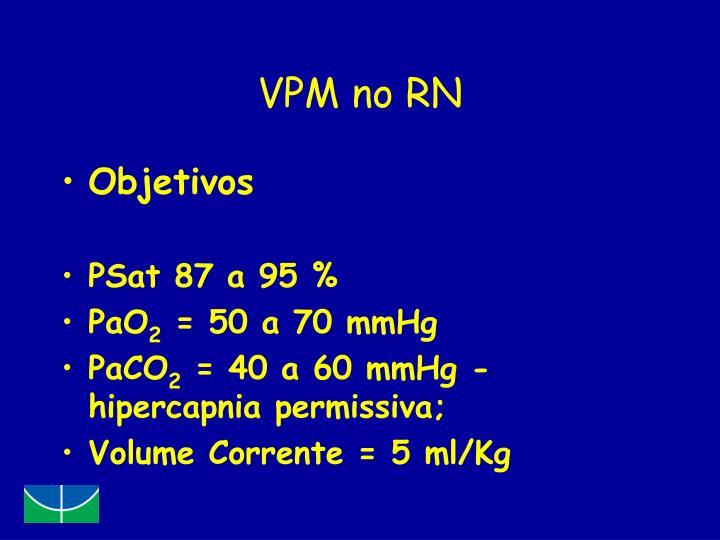 VPM no RN