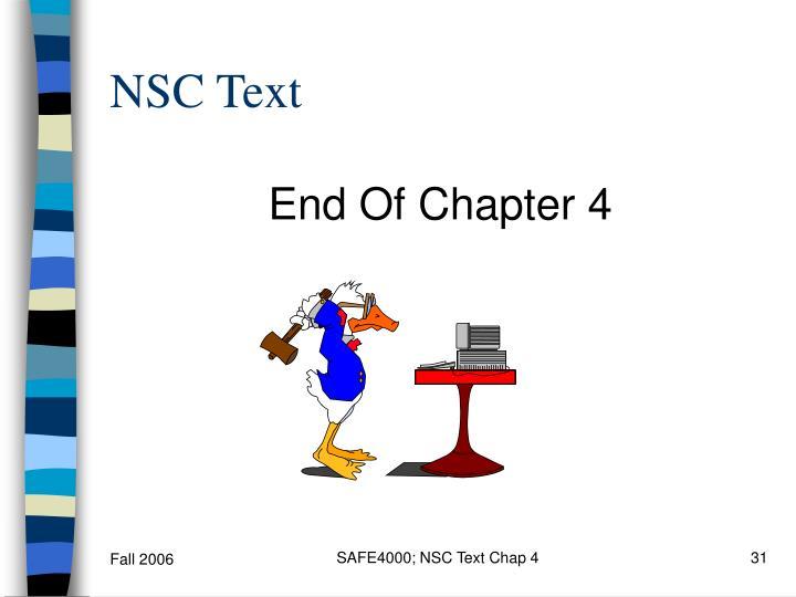 NSC Text
