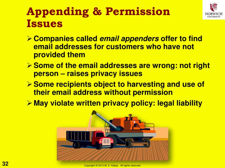 Appending & Permission Issues