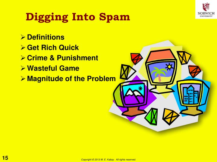 Digging Into Spam