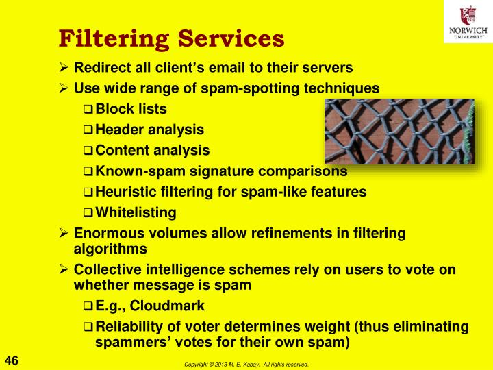 Filtering Services
