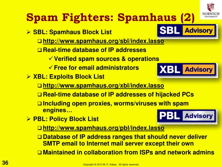 Spam Fighters: Spamhaus (2)