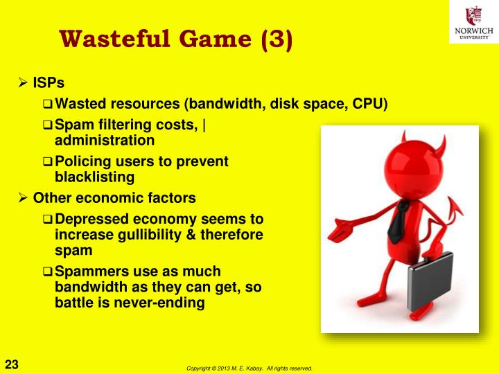 Wasteful Game (3)