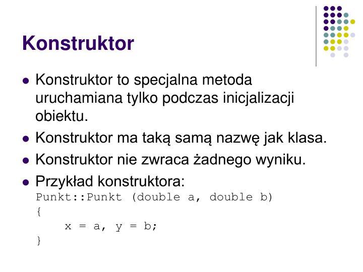 Konstruktor