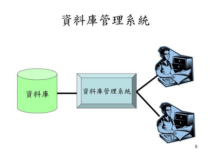 資料庫管理系統