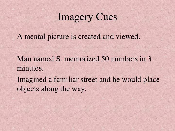 Imagery Cues