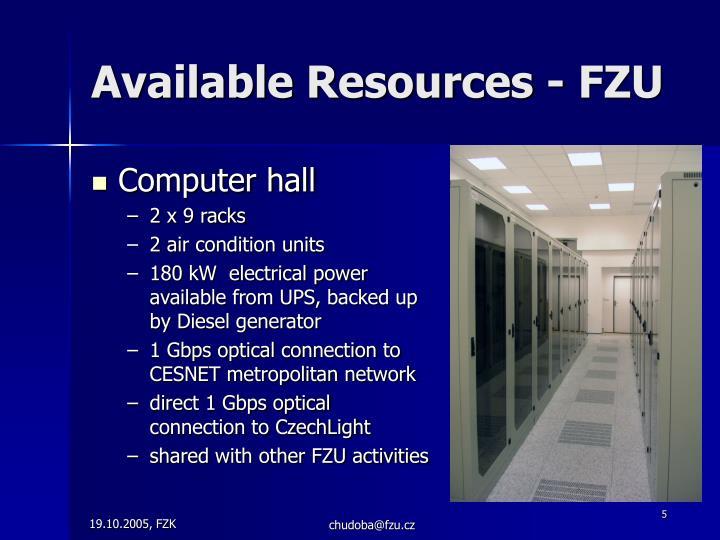 Computer hall