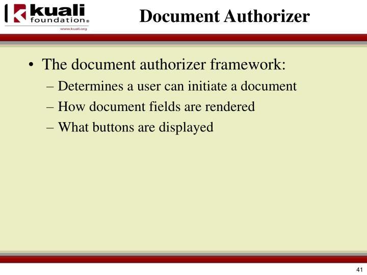 Document Authorizer