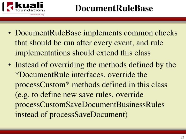 DocumentRuleBase