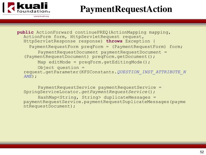 PaymentRequestAction
