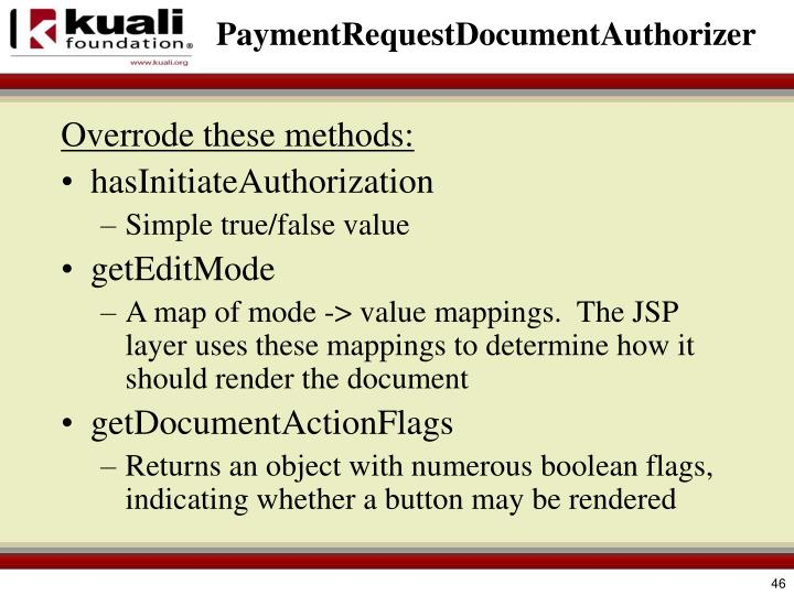 PaymentRequestDocumentAuthorizer