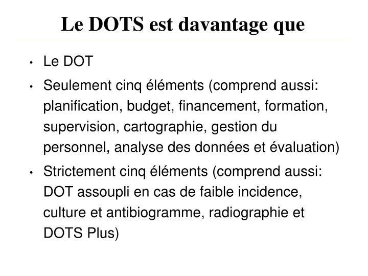 Le DOTS
