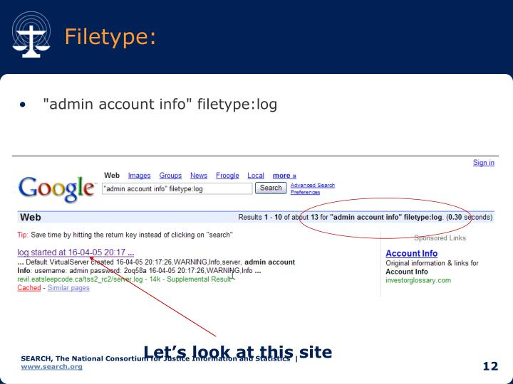 Filetype: