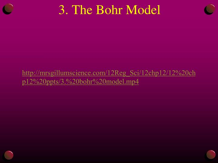 3. The Bohr Model