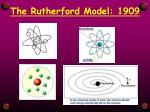 the rutherford model 19092
