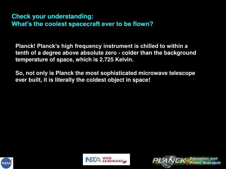 Check your understanding: