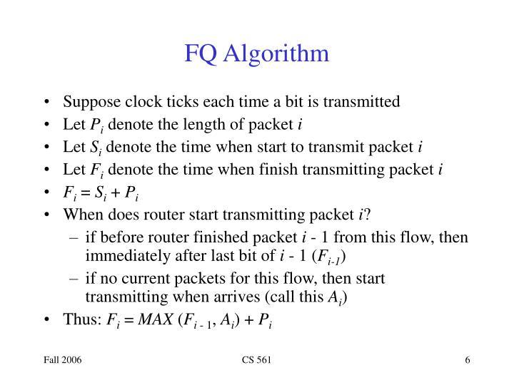 FQ Algorithm