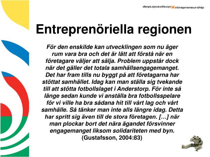 Entreprenöriella regionen