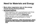 need for materials and energy2