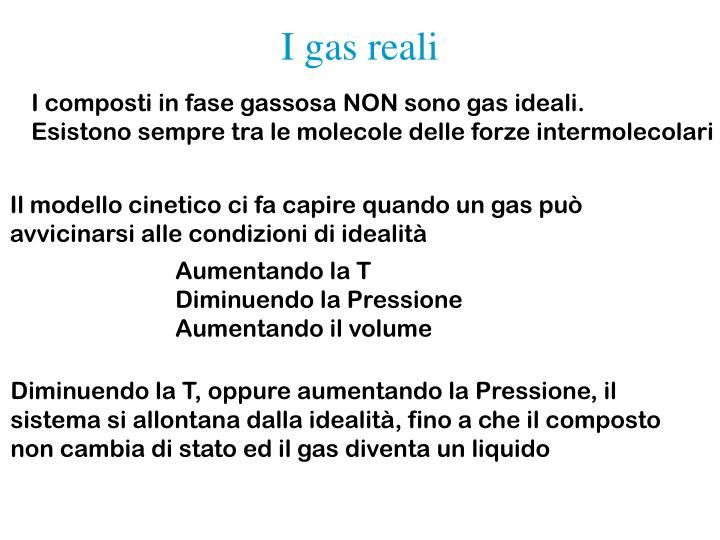 I gas reali