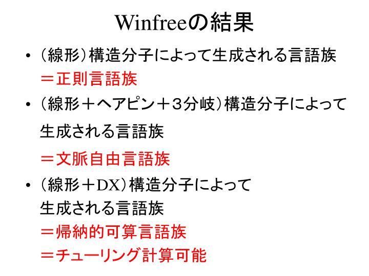 Winfree