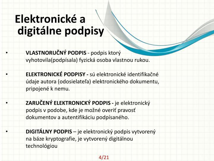 Elektronické
