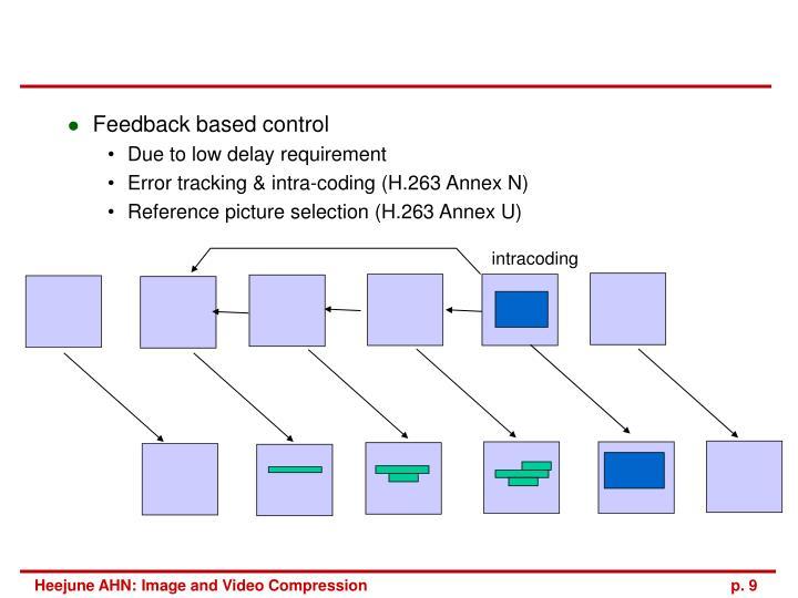 Feedback based control