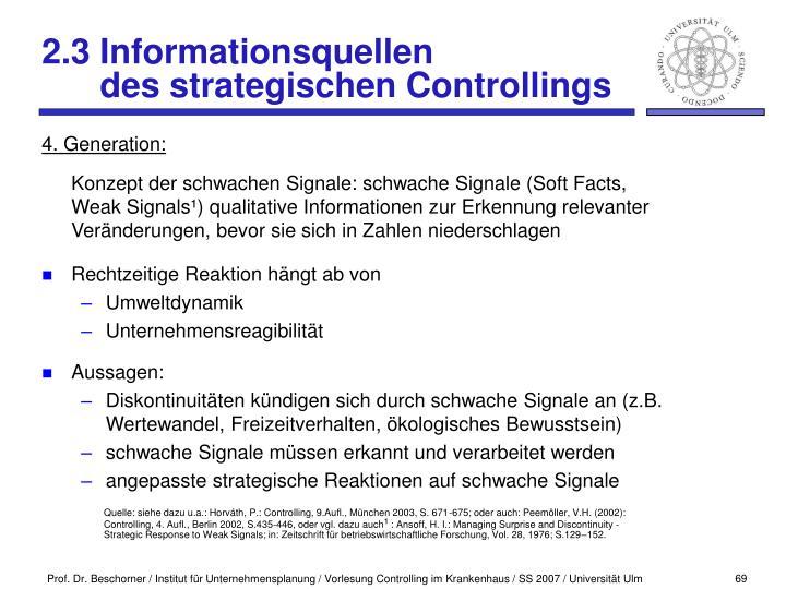 2.3 Informationsquellen