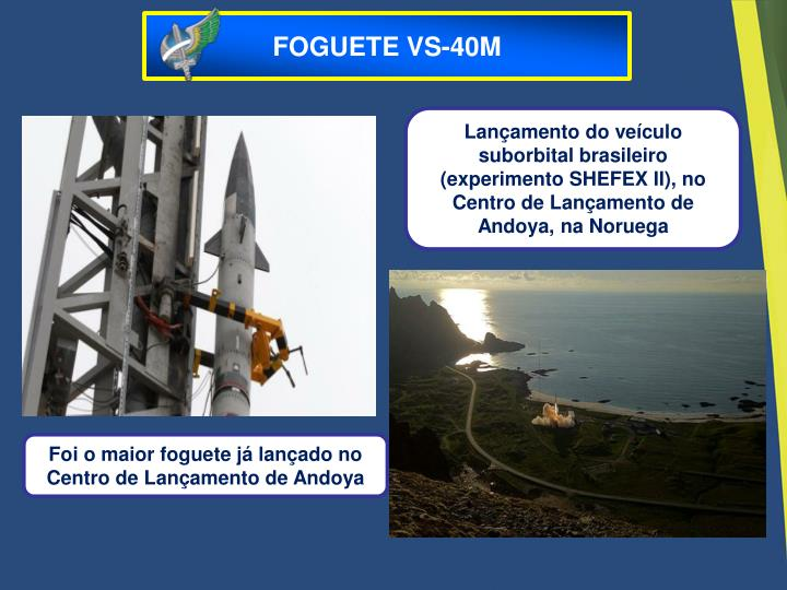 FOGUETE VS-40M