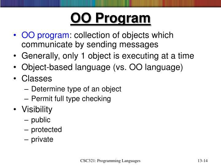 OO Program