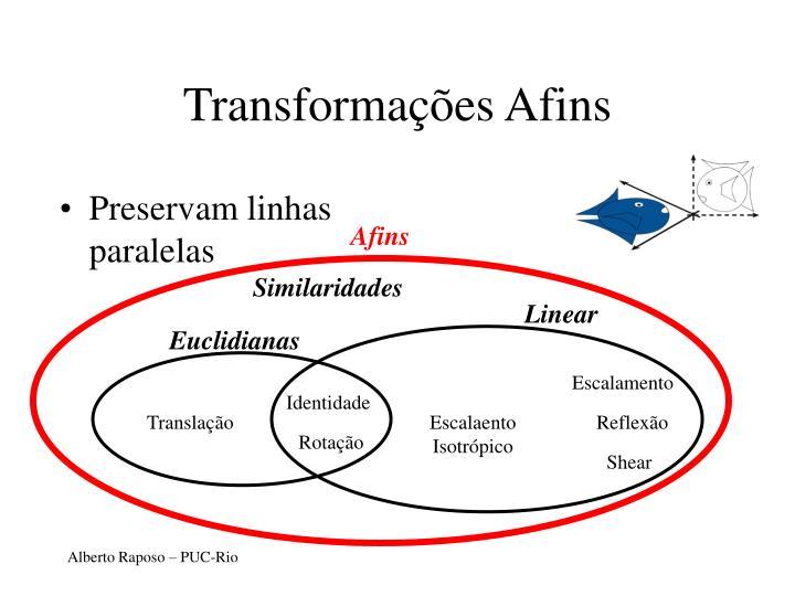 Transformações Afins