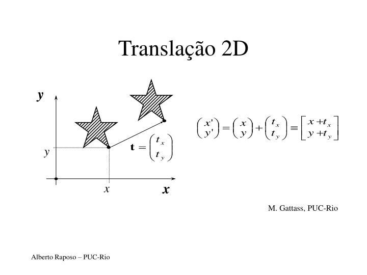 Translação 2D