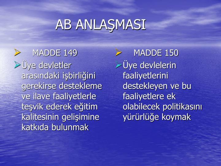 AB ANLAŞMASI