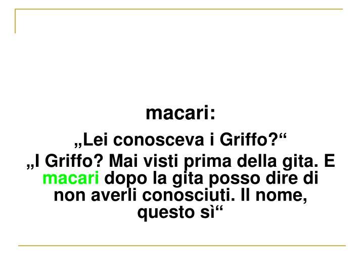 macari:
